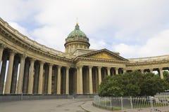 St. Petersburg, Kazanskiy katedra Zdjęcie Royalty Free