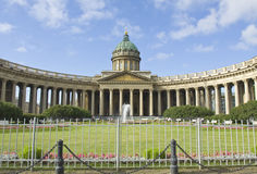 St. Petersburg, Kazanskiy katedra Fotografia Royalty Free