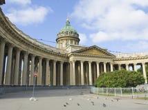 St. Petersburg, Kazanskiy katedra Zdjęcie Stock