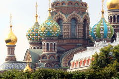 St Petersburg: Kirche des Retters auf Blut Lizenzfreie Stockfotografie