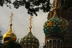 St Petersburg: Kirche des Retters auf Blut Stockfotografie