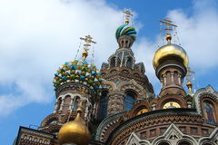 St Petersburg: Kirche des Retters auf Blut Stockfotos