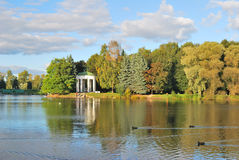 St. Petersburg.  Krestovskiy island in autumn Stock Image