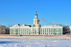 St. Petersburg. Kunstkammer, 18 century Royalty Free Stock Photo