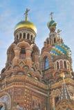 St Petersburg kyrka av Frälsare-på-blodet arkivbilder