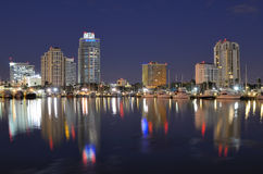 St Petersburg, la Floride Images libres de droits