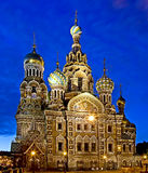 St Petersburg la nuit 1 Photographie stock libre de droits