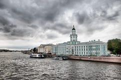 St Petersburg La Russia Kunstkamera Fotografia Stock
