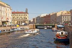 St Petersburg. La Russie Photos stock