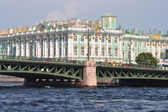 St Petersburg landmark Palace Hermitage Royalty Free Stock Image