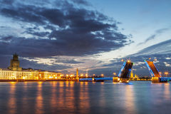 St. Petersburg landscape Royalty Free Stock Images