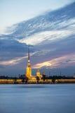 St. Petersburg landscape Royalty Free Stock Photo