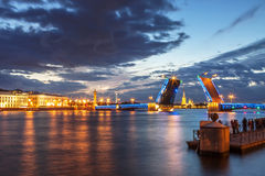 St Petersburg landskap Royaltyfri Bild