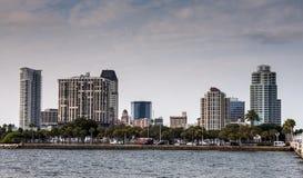 St Petersburg linia horyzontu, Floryda zdjęcie stock