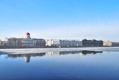 St. Petersburg. Malaya Neva Quay Royalty Free Stock Photography