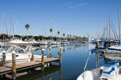 St Petersburg Marina Florida Images stock