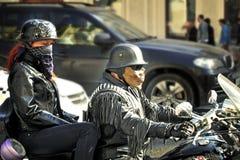 St. Petersburg - 9 MEI: De parade gewijd aan Victory Day Royalty-vrije Stock Afbeelding
