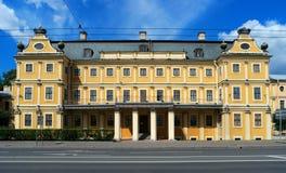 St Petersburg Menshikov slott Arkivfoton
