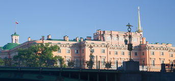 St. Petersburg. Mikhailovsky Castle Royalty Free Stock Photos