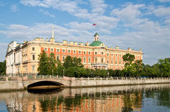 St. Petersburg, The Mikhailovsky Palace   Royalty Free Stock Photos