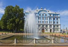 St. Petersburg, Military-marine college Royalty Free Stock Images