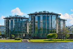 St. Petersburg, modern houses Royalty Free Stock Photography
