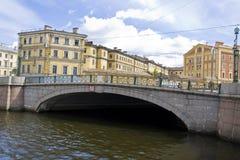 St. Petersburg, Mogilevskiy bridge Stock Photo