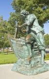 St Petersburg monument som görar till kung Peter mig Royaltyfri Bild