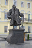 St. Petersburg.  Monument to the architect Domenico Trezzini Stock Image