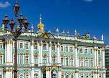 St Petersburg Musée d'ermitage Photographie stock