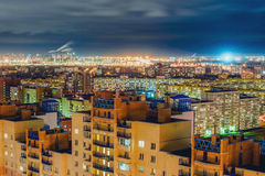 St Petersburg na noite Imagens de Stock Royalty Free