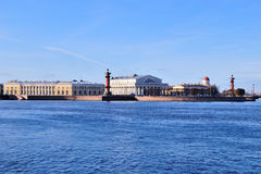 St. Petersburg. Neva and the  Vasilevsky Island Stock Photography