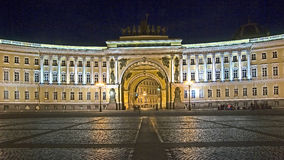 St.Petersburg at night 2 Stock Image
