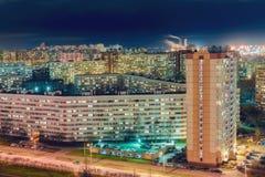 St. Petersburg at night Royalty Free Stock Image