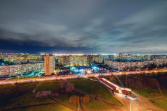 St. Petersburg at night Royalty Free Stock Images