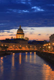 St. Petersburg. Night Scene Royalty Free Stock Photos