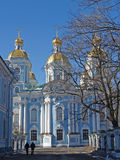 St. Petersburg. Nikolsky sea cathedral Stock Image