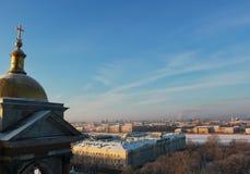 St Petersburg no inverno Imagem de Stock Royalty Free