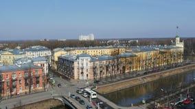 St Petersburg no lapso de tempo da mola filme