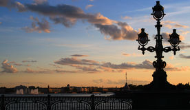 St Petersburg. Nuits blanches Photos stock