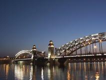 St Petersburg. Nuits blanches Photographie stock libre de droits