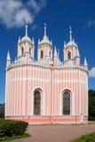 St. Petersburg, Orthodox Church Chesme Stock Photography