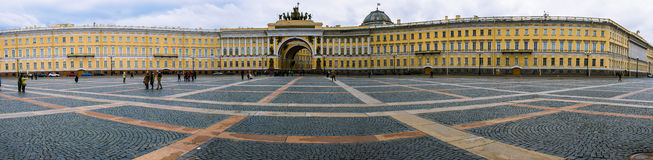 St. Petersburg. Palace Square. Russia, the city of St. Petersburg, the Great Palace Square, the General Staff building Stock Images