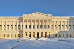 St Petersburg. Palacio de Mikhailovsky Imágenes de archivo libres de regalías