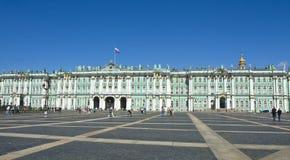 St Petersburg, palais de l'hiver (ermitage) Image libre de droits