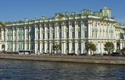 St Petersburg, palais de l'hiver (ermitage) Images libres de droits