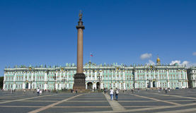 St Petersburg, palais de l'hiver (ermitage) Photo libre de droits