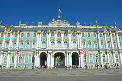 St Petersburg, palazzo di inverno (eremo) Fotografia Stock