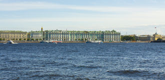 St Petersburg, palazzo di inverno (Museo dell'Ermitage) Immagine Stock Libera da Diritti