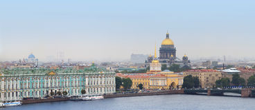 St Petersburg panorama Stock Photography